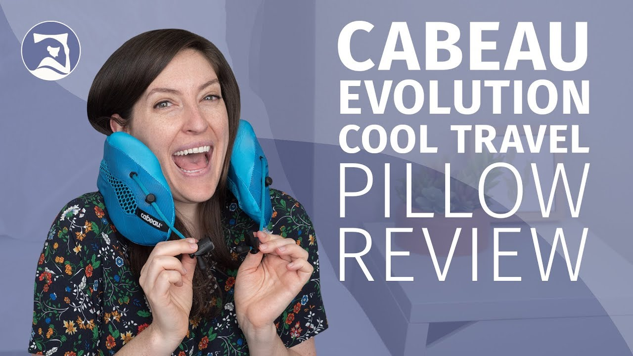 cabeau evolution cool travel pillow review cool enough for you