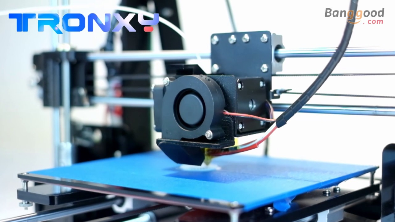 TRONXY® P802M DIY 3D Printer Kit Printing Size Support Off line Print