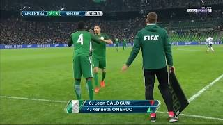 Argentina vs Nigeria 2 4   All Goals & Extended Highlights   Friendly 14 11 2017 HD