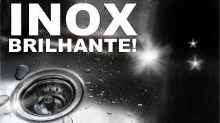 INOX BRILHANDO COM APENAS 1 INGREDIENTE
