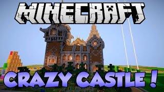 Crazy Castle Minecraft Build Timelapse!