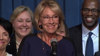 Full: Betsy DeVos Speech to Department of Education Staff | ABC News