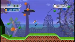 Wii Play: Motion - Jump Park Gem Hunt (All Stages)