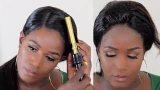 HOW TO MAKE A CLOSURE LOOK LIKE A FRONTAL | CELIE HAIR