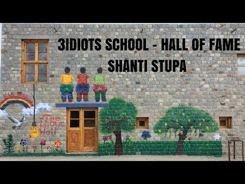 LEH LADAKH   3 IDIOTS SCHOOL   HALL OF FAME   SHANTI STUPA   TVS JUPITER   2017