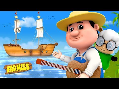 My Bonnie Lies Over The Ocean | Kindergarten Songs For Kids