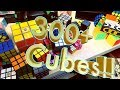 My Full Rubik's Cube Collection!! - Late 2017