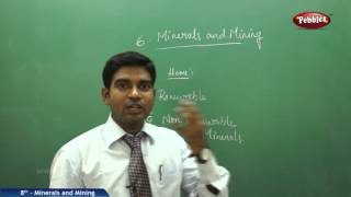 Minerals and Mining | 8th Social Studies | AP & TS State Board Syllabus | Live Video