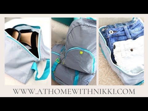 TRAVEL PACKING TIPS | HOW TO PACK FOR VACATION