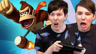 FLAPPY BIRD IN DONKEY KONG?? - Dan and Phil Play: Donkey Kong Country Tropical Freeze #3