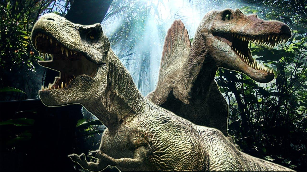 dinosaurs  trex  spinosaurus tribute  youtube