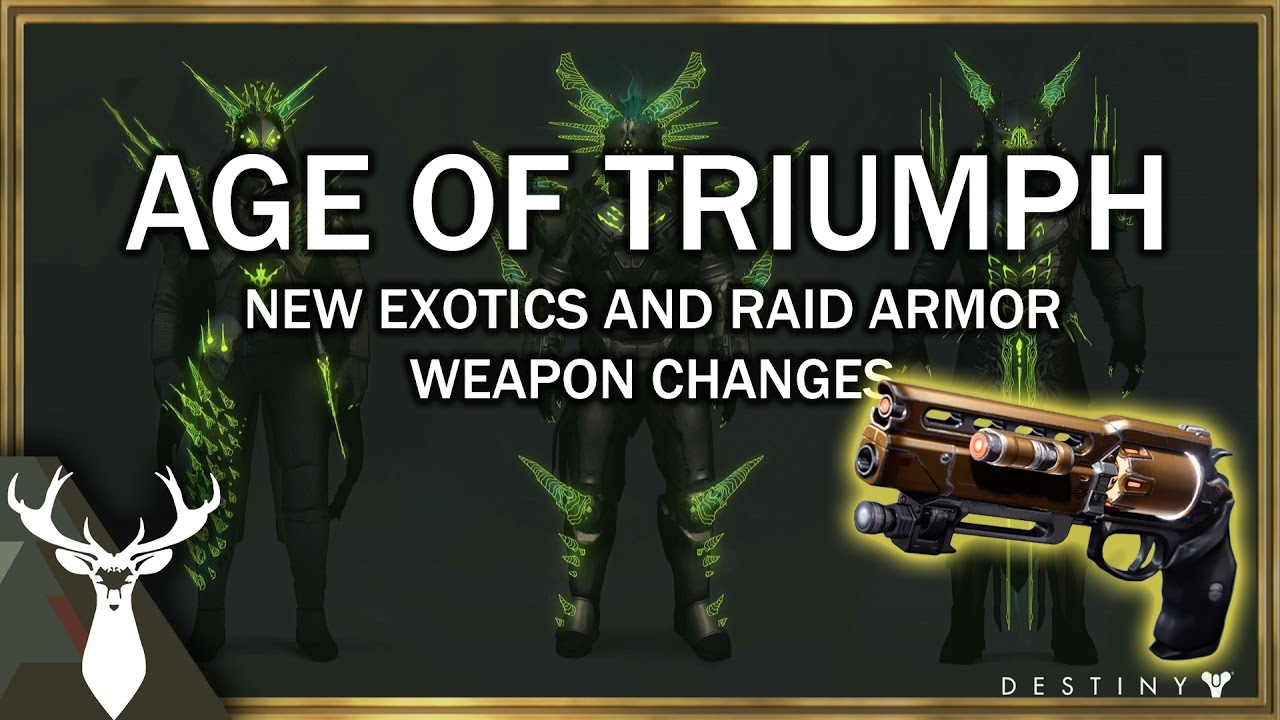how to get age of triumph armor