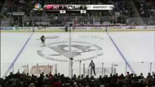 Detroit Red Wings @ Pittsburgh Penguins Shootout 4/9/14