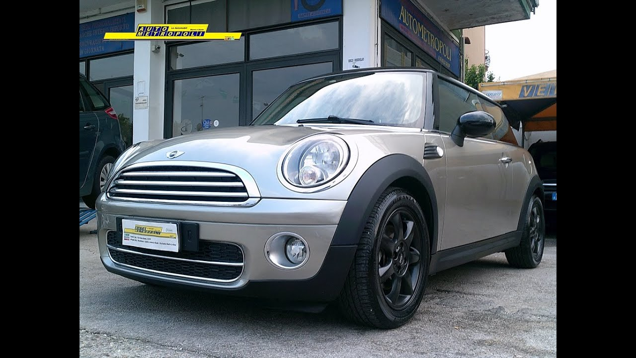 Mini 16 16v 109cv Cooper D Chili Autometropoliit Youtube