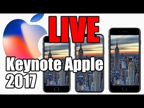 Evento Apple 2017 - Lançamento iPhone X, iPhone 8 e 8 Plus