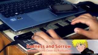 Naruto : Sadness and Sorrow (Amateur Piano Cover by Riadyawan, Korg NanoKey 2 Test)