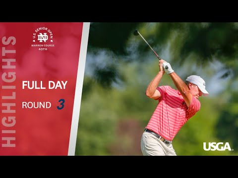 2019 U.S. Senior Open Round 3: Extended Highlights