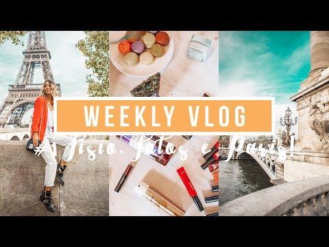 WEEKLY VLOG #1 | Fisioterapia, muitas fotos e PARIS com a L'oreal!!