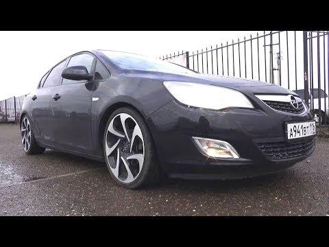 2012 Opel Astra 1.4 Turbo (A14NET). Обзор (интерьер, экстерьер, двигатель).