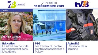 7/8 L'Hebdo. Edition du vendredi 13 décembre 2019