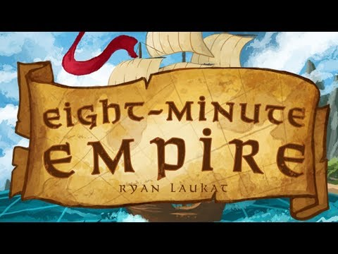 Risk Like Board Game Strategy - Eight Minute Empire Gameplay Impressions
