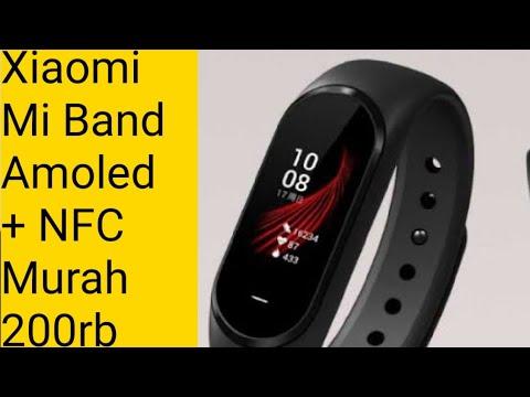Mi Band Amoled 200 RB, Ada NFC Bukan Mi Band 4, Unboxing Dan Review, Xiaomi Hey Plus