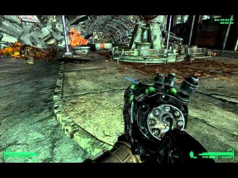 Fallout 3 Pipboy Light-Terrain Glitch