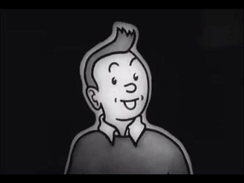 Hergé, Tintín y Milú - Homenaje a Hergé en Bélgica, 30 aniversario Le Petit Vingtième Tintin (1976)