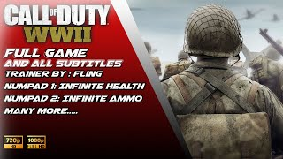 Call of Duty  WWII + Cheat Part.1 Sub.Indo