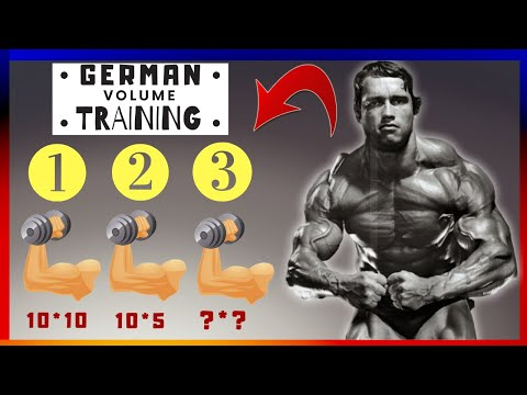 German Volume Training For Muscle Mass Explained (Shredded Sports Science)