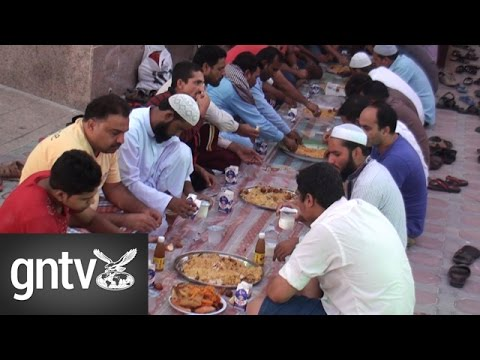 Al Baraha Mosque in Dubai holds free daily Iftar