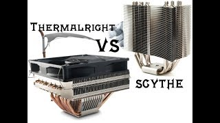 Битва титанов (Тест SCYTHE ZIPANG и THERMALRIGHT ULTRA-120 EXTREME)