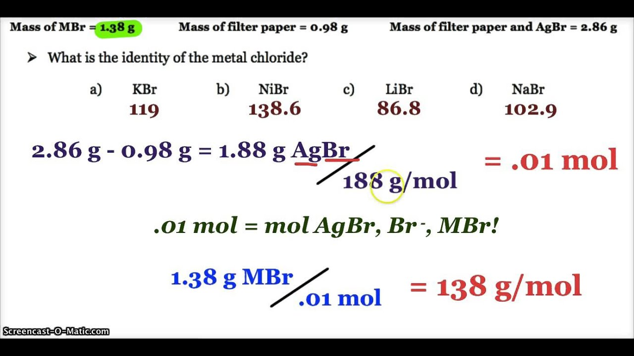 chem 1001 gravimetric analysis of a Free essay: gravimetric analysis of a chloride salt chem 1001 purpose: to  illustrate typical techniques used in gravimetric analysis by.