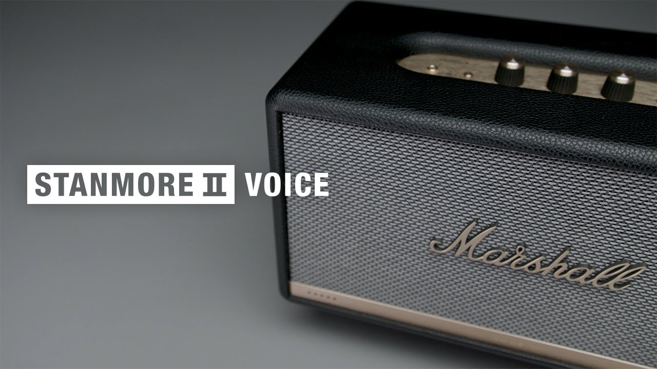 Stanmore II Voice Bluetooth Speaker: Alexa in your Marshall