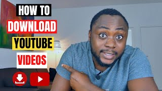 How to Download A Youтube Video 2021 (New Method)