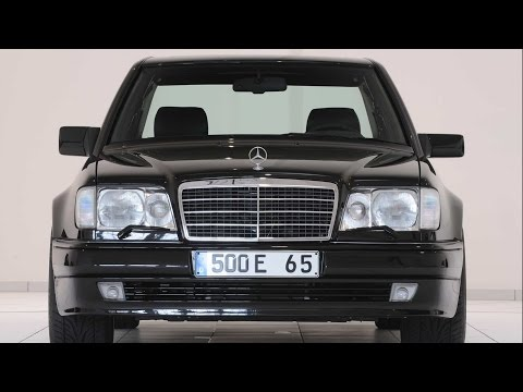 BRABUS 6.5 MB E500 W124 - A Living Legend