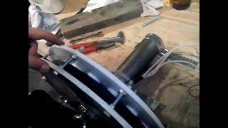 Изготовление ветрогенератора для Александра