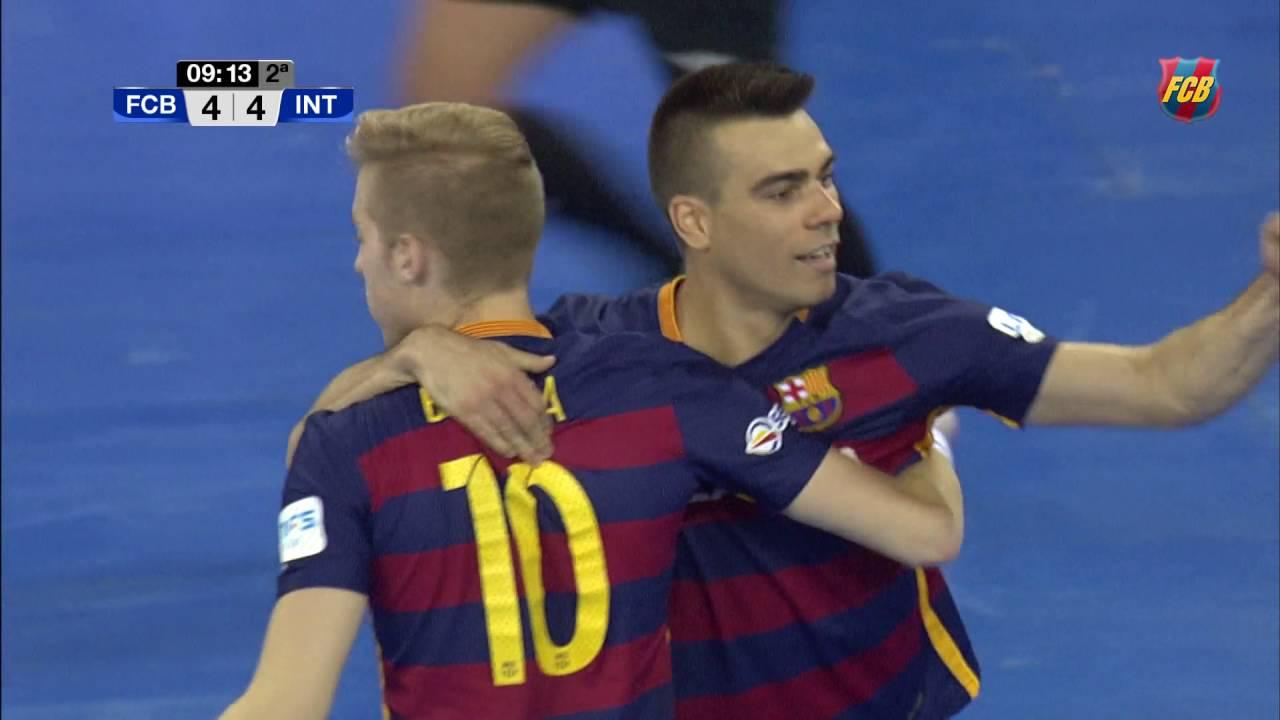 Download [HIGHLIGHTS] FUTSAL (LNFS): FC Barcelona Lassa- Inter Movistar (6-4)