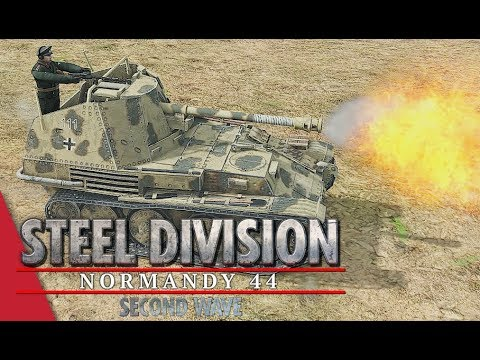 2nd APT Round 1! Steel Division: Normandy 44 - YueJin vs Blizeflower (Cheux, 1v1)