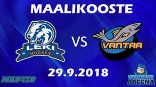 Maalikooste LeKi - K-Vantaa 29.9.2018