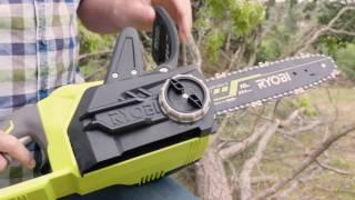 """RYOBI NZ: 18V ONE+ Brushless 10"""" Chainsaw"""
