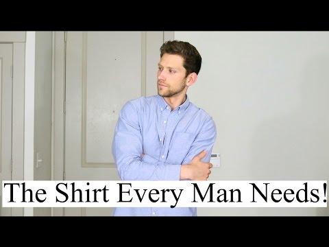 6 Ways To Wear An Oxford Shirt | An Oxford Shirt Tutorial