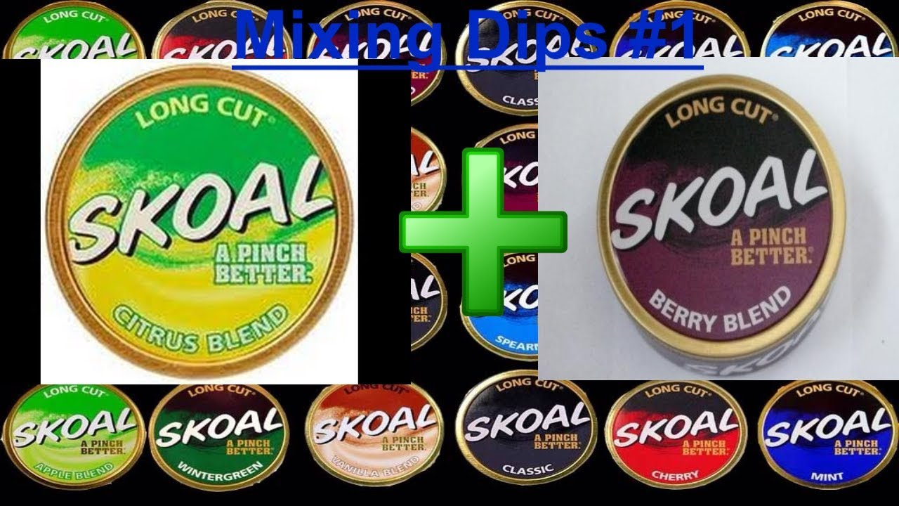 mixing skoal berry and