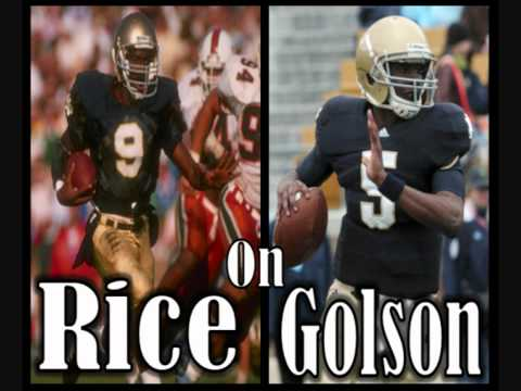"Tony Rice ""Everett Golson is better than me."""