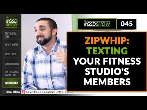 The GSD Show | Episode 045: Texting Your Fitness Studio's Members