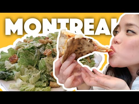 Where To Eat In Montreal (BEST PIZZA In Town) 🍕 | 24 Hours Ep.2