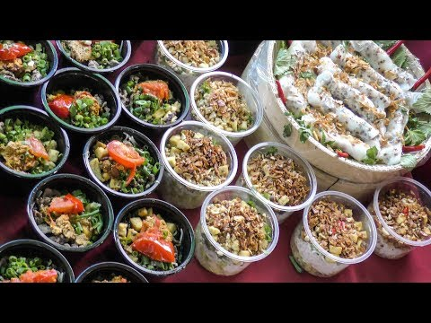 Asian Street Food and More at Night Market Warszawa Glowna in Warsaw, Poland