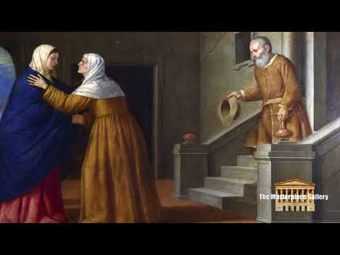Gallery Paintings with Classical Music- The Visitation HD