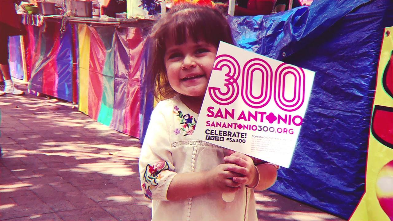 SA300 Tricentennial   Celebrating San Antonio for 300 Years