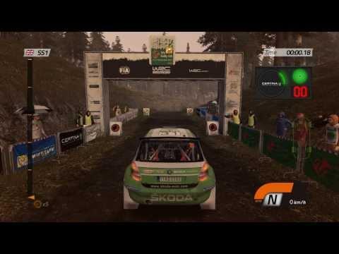 WRC 4 - Gameplay Video  